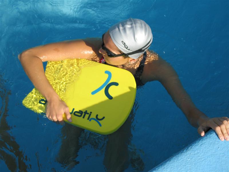 Плавание на доске для похудения